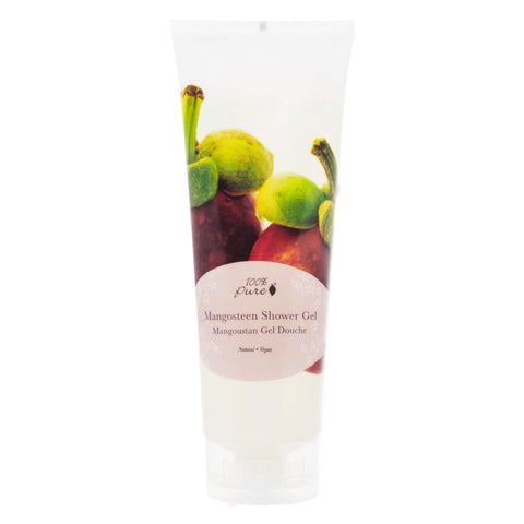 Bottle of 100% Pure Mangosteen Shower Gel 236 Milliliters