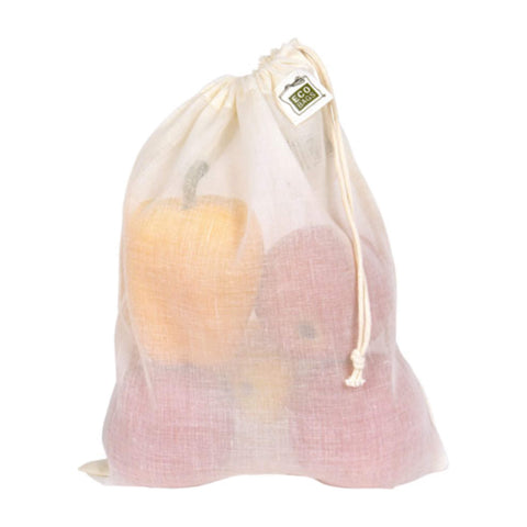 Eco Bags Natural Cotton Gauze Produce Bags