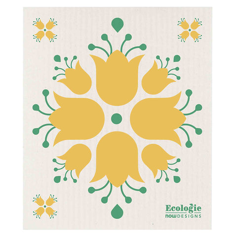 Now Designs Swedish Cloth Tulip Design