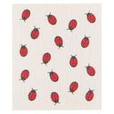 Now Designs Swedish Cloth LadyBugs Design