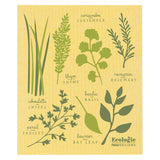 Now Designs Swedish Cloth Yellow with Herb Design