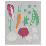 Now Designs Swedish Cloth Gray with VeggiesDesign