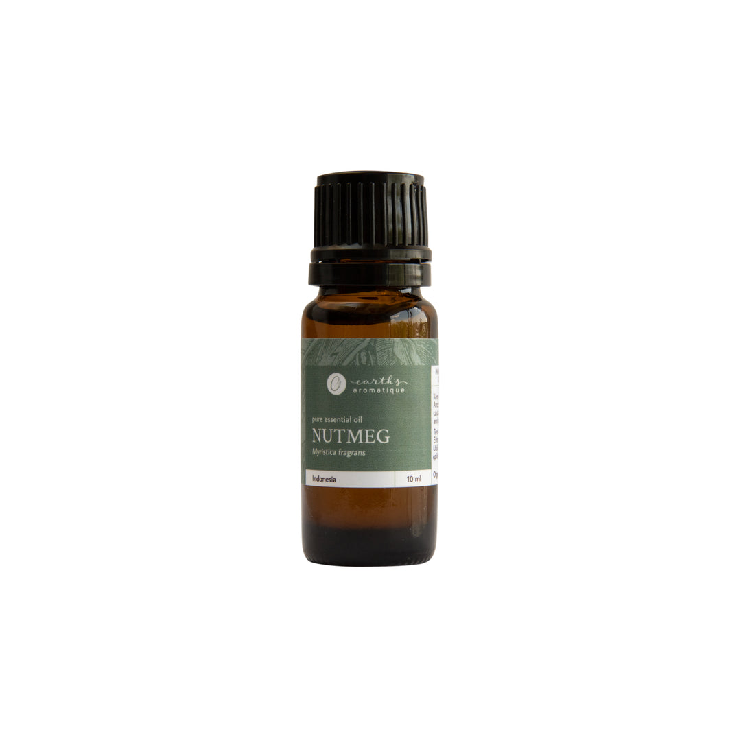 Earth's Aromatique - Nutmeg Essential Oil 10ml | Kolya Naturals, Canada