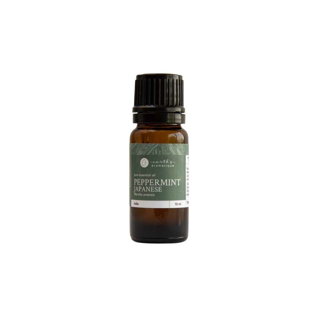 Earth's Aromatique - Japanese Peppermint Essential Oil 10ml | Kolya Naturals, Canada