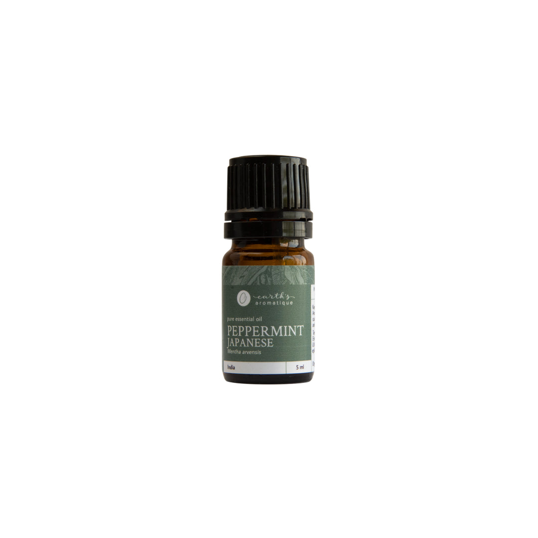 Earth's Aromatique - Japanese Peppermint 5 mL Essential Oil | Kolya Naturals, Canada