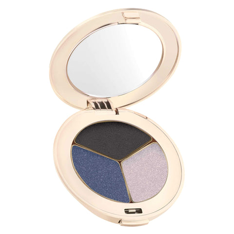 Compact of PurePressed Eyeshadow Triple Blue Hour