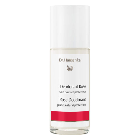 Bottle of Dr. Hauschka Rose Deodorant 50 Milliliters