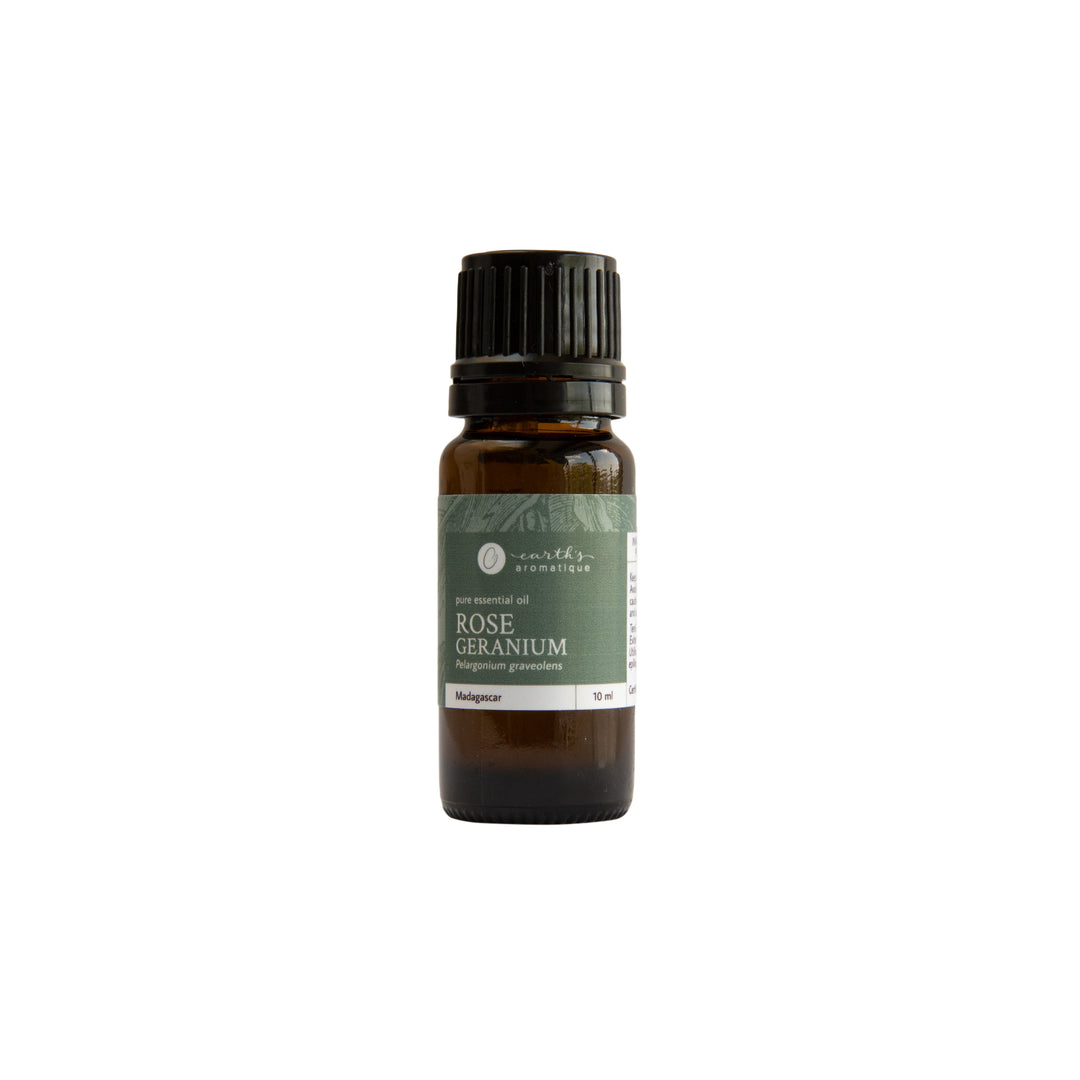 Earth's Aromatique - Rose Geranium Essential Oil 10ml | Kolya Naturals, Canada
