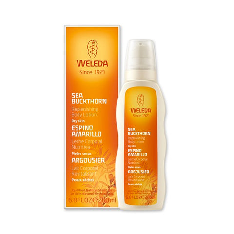 Weleda - Sea Buckthorn Replenishing Body Lotion | Kolya Naturals, Canada