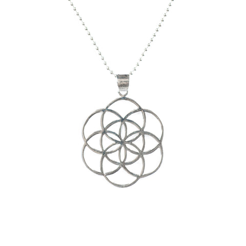 Seed of Life Necklace - Sterling Silver