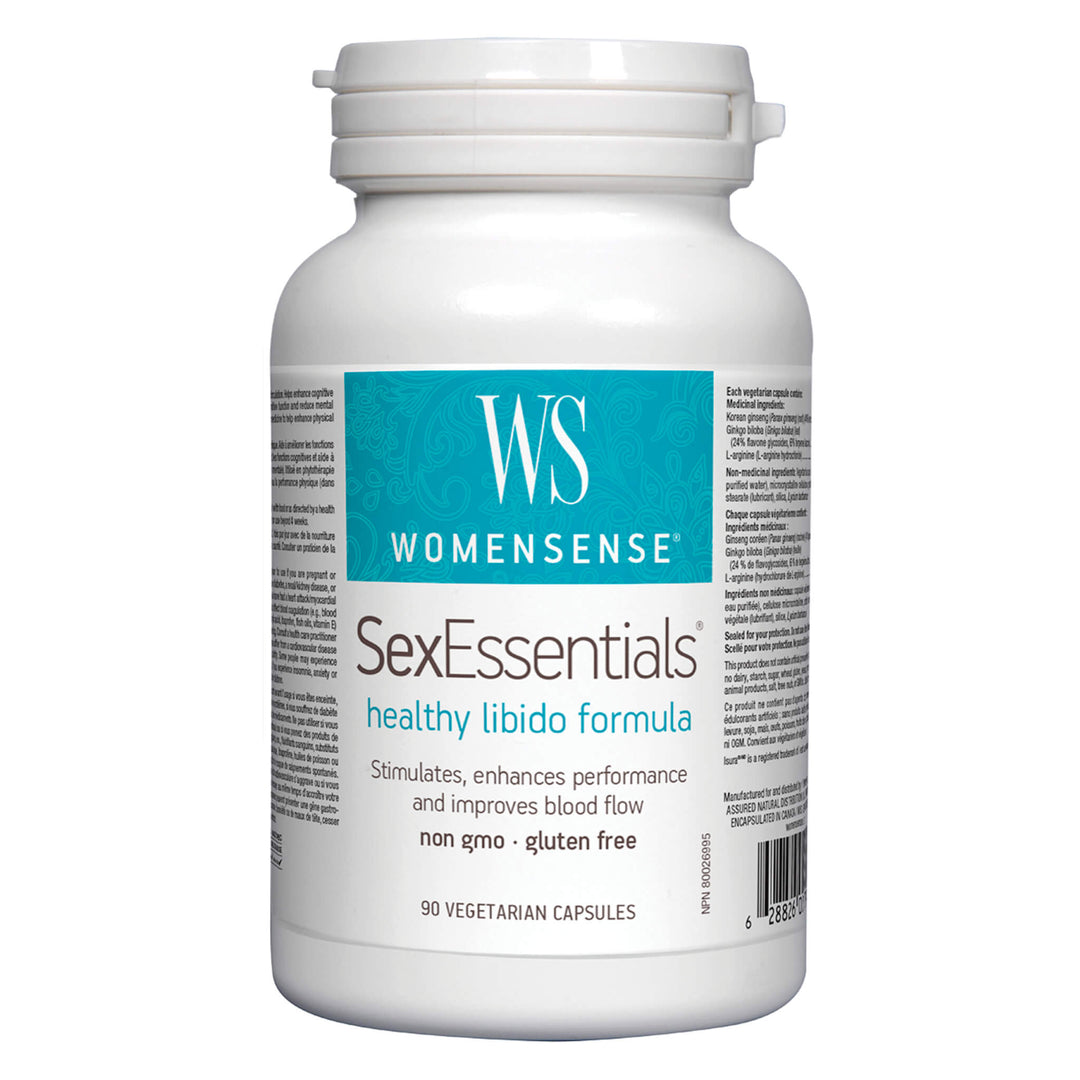 Bottle of Women Sense Sex Essentials 90 Vegetarian Capsules