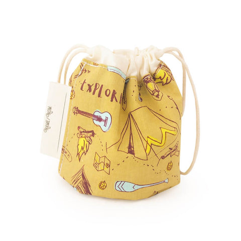 OKO Creations - Reuseable Organic Cotton Snack Bag