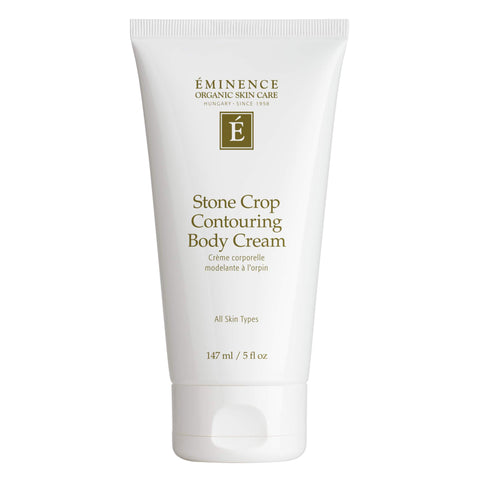 Bottle of Eminence Stone Crop Contouring Body Cream 5 Ounces