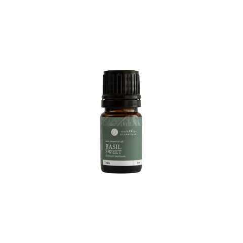 Earth's Aromatique - Sweet Basil 5 mL Essential Oil | Kolya Naturals, Canada