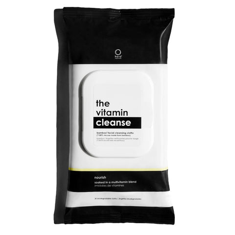 The Vitamin Cleanse | Bamboo Facial Cleansing Cloths