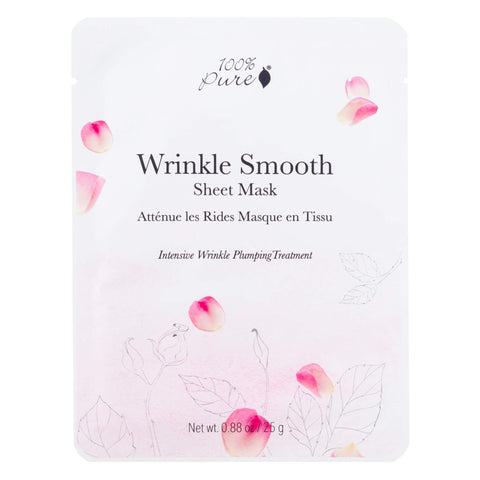 100% Pure Wrinkle Smooth Sheet Mask