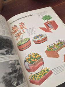 Vintage Sunset Gardening In Containers Garden Book