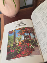 Load image into Gallery viewer, Vintage Sunset Gardening In Containers Garden Book