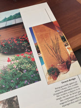 Load image into Gallery viewer, Vintage Sunset Container Gardening Book