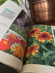 Vintage Sunset Garden Color Gardening Book