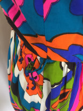 Load image into Gallery viewer, Vintage 1960's-70's Psychedelic Palazzo Pant Jumpsuit From San Francisco Haight Ashbury