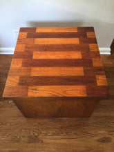 Load image into Gallery viewer, Vintage Mid Century Modern Brutalist Lane Furniture Side Table