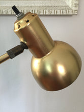 Load image into Gallery viewer, Vintage Mid Century Modern Brass Cantilever Desk Lamp c1960s