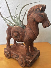 Load image into Gallery viewer, Vintage Ceramic Trojan Horse Planter By Hickok