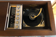 Load image into Gallery viewer, Vintage Mid Century Stereo Record Player Tube Amplifier By Magnavox Refurbished Plus Bluetooth