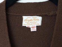 Load image into Gallery viewer, Vintage Belted '70s  Mod Long Sweater Vest In Chocolate Brown