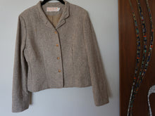 Load image into Gallery viewer, Vintage Pendleton Wool Tweed Jacket In Natural Fleck