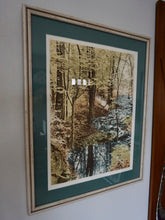 Load image into Gallery viewer, Vintage Framed Landscape In Multicolor Sepia Style Of Butler Creek In MO