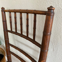 Load image into Gallery viewer, Vintage Antique Solid Walnut Petite Boho Chair With Cane Seat