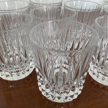 Load image into Gallery viewer, Vintage Set Of 8 Cut Crystal Double Old Fashion Rocks Glasses