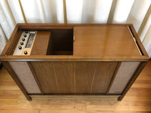 Load image into Gallery viewer, Vintage MidCentury Tube Amplified Record Player By Magnavox Refurbished With Added Bluetooth