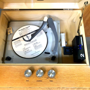 Vintage Record Player With Added Bluetooth By Magnavox