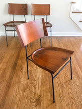 Load image into Gallery viewer, Vintage MidCentury Modern Shovel Style Chairs IMO Paul McCobb