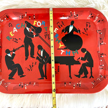 Load image into Gallery viewer, Vintage Mid Century Whimsical Tray Set