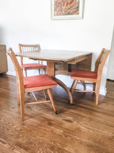 Load image into Gallery viewer, Vintage Mid Century Modern Dining Set Can Seat Up To 8