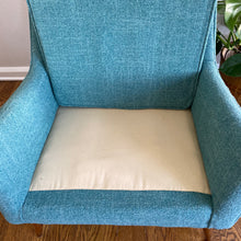 Load image into Gallery viewer, Vintage MidCentury Modern Lounge Armchair Newly Upholstered