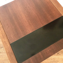 Load image into Gallery viewer, Vintage MidCentury Modern Side Table With Floating Drawer