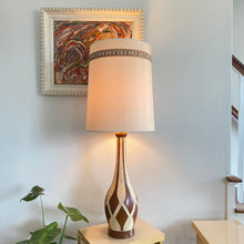 Load image into Gallery viewer, Vintage MidCentury Ceramic Table Lamp