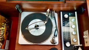Vintage Record Player With Added Bluetooth Tube Amplified 1963 RCA