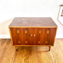 Load image into Gallery viewer, Vintage MidCentury Modern Lane BowTie RecordPlayer Cabinet