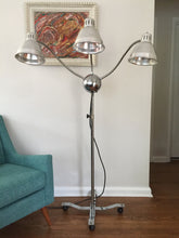 Load image into Gallery viewer, Vintage Mid Century Modern Sputnik Medusa Industrial Chrome Lamp With 3 Arms