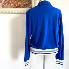 Load image into Gallery viewer, Vintage 70's Cal Sport Blue Track Jacket