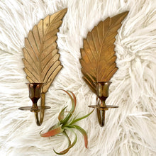 Load image into Gallery viewer, Vintage Boho Solid Brass Sconces By Gatco