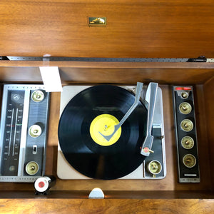 Vintage MidCentury RCA Stereo Record Player With Added Bluetooth 1960