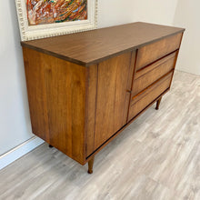 Load image into Gallery viewer, Vintage Mid Century Modern Sideboard Buffet Credenza