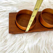 Load image into Gallery viewer, Vintage Mid Century Modern Teak Bowl Set